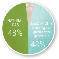 BPW with 100 percent green electricity