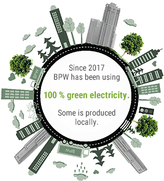 100% green electricity