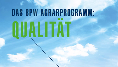 The BPW agricultural programme