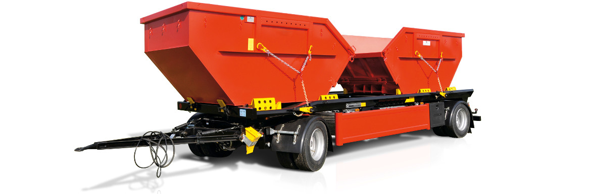 BPW drawbars: Perfect traction for turntable drawbar trailers