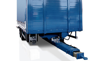 BPW drawbars: for a strongly anchored trailer