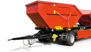 BPW 'A' frames: perfect traction for turntable drawbar trailers
