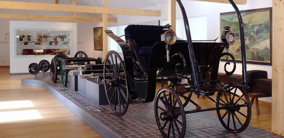 BPW axle, wheel and carriage museum exhibition
